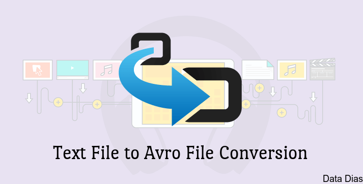 Convert Tet File to Avro File