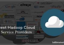 Hadoop Cloud Service Providers