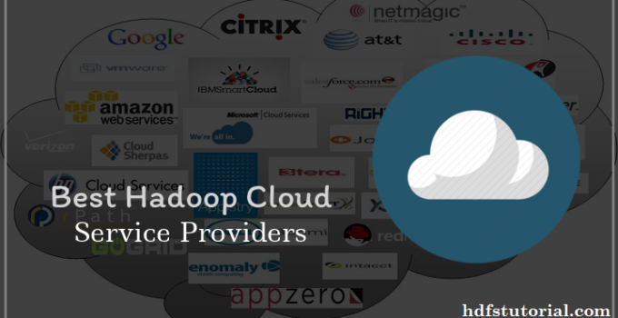 Hadoop Cloud Service Providers