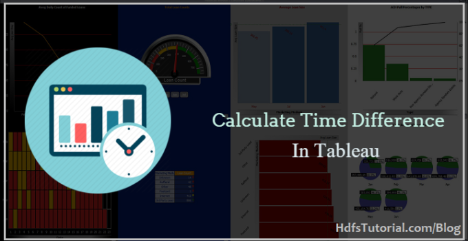 calculate time difference in Tableau