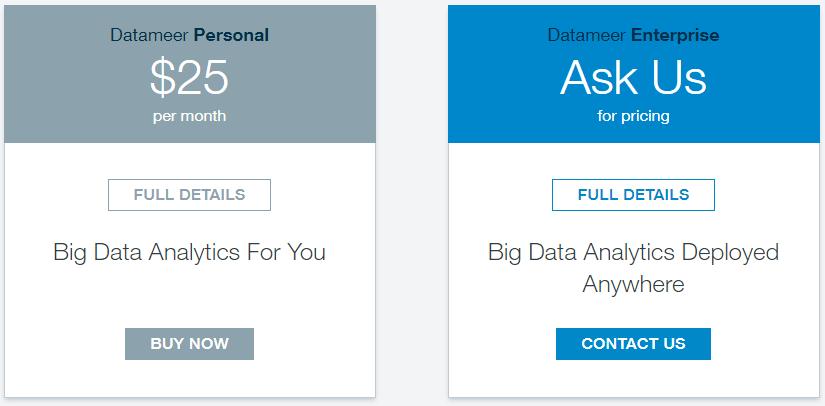 Datameer Pricing