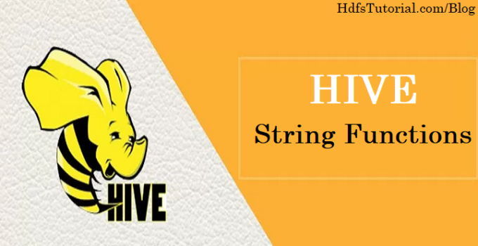 String Functions In Hive