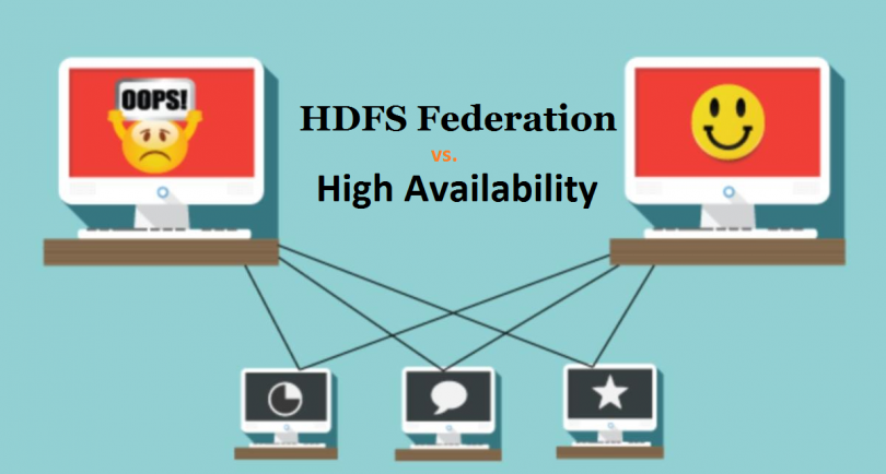 HDFS federation vs high availability