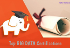 top big data certifications