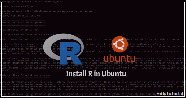 install R in ubuntu