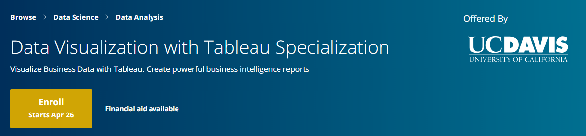 7 Best Tableau Course, Trainings, Certification Training