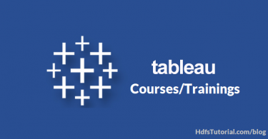 Best Tableau Courses/Trainings