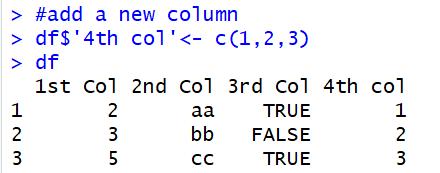 add new column to dataframe