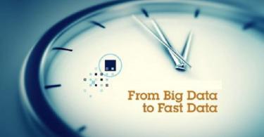 big data transformation to fast data