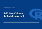 r add column to dataframe