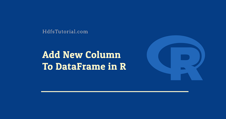 r add column to dataframe