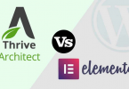 Thrive Architect vs Elementor