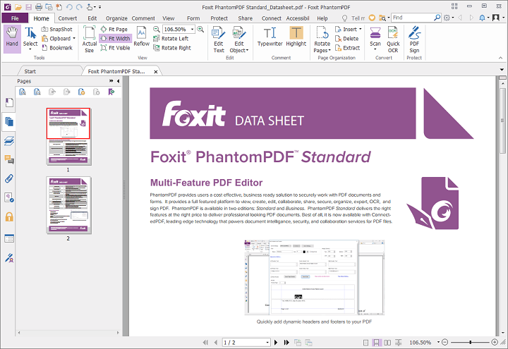 PhantomPDF by Foxit Software